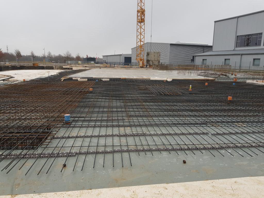 Hochbau Industriebau Eisenflechterei Armierungsarbeiten Baustahlarmierung