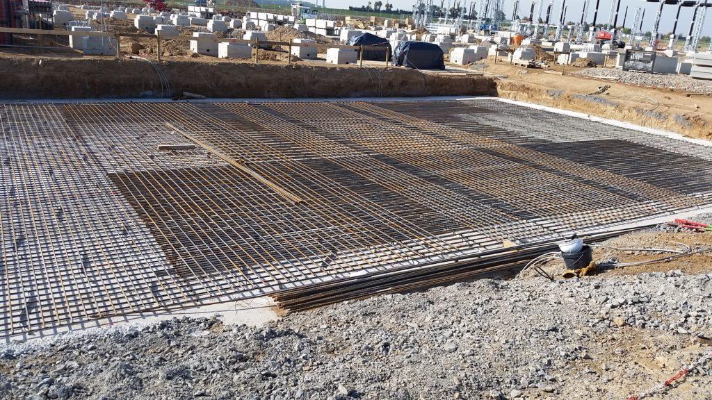 Industriebodenplatten Armierungsarbeiten Baustahlarmierung Betonstahlarmierung Eisenflechterei Baustahlverlegung