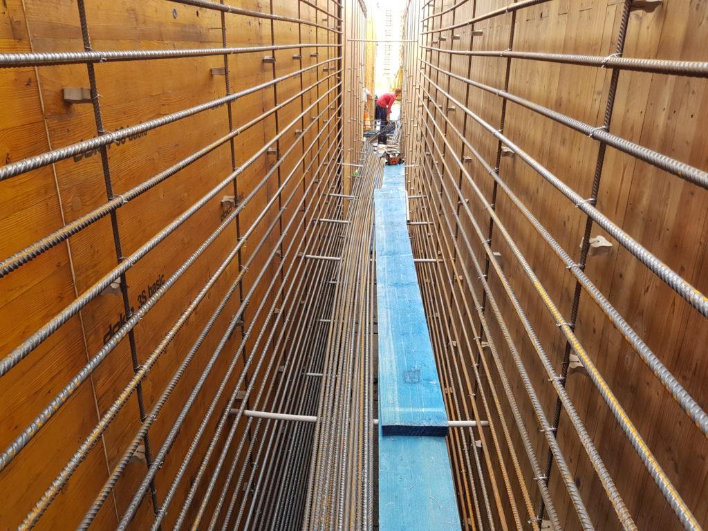 Brückenbau Eisenflechterei Baustahlarmierung Betonstahlarmierung Brückenbau Ingenieurbau