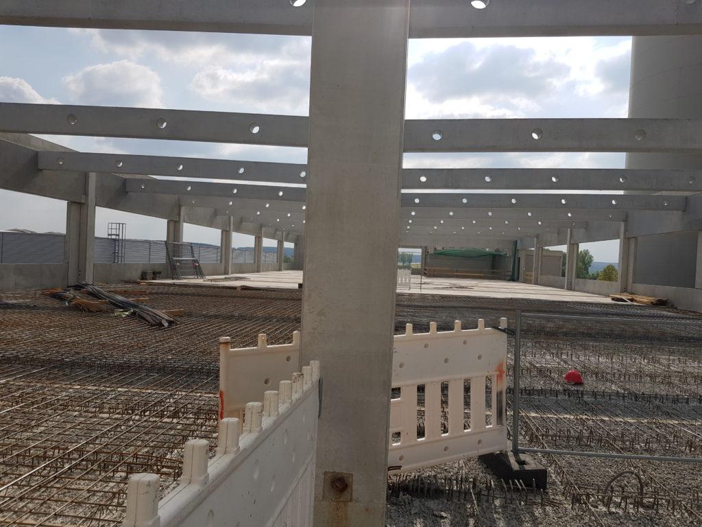 Hallenbau Baustahlverlegung Eisenflechterei Betonstahlarmierung Mattenstahl Rundstahl armierung