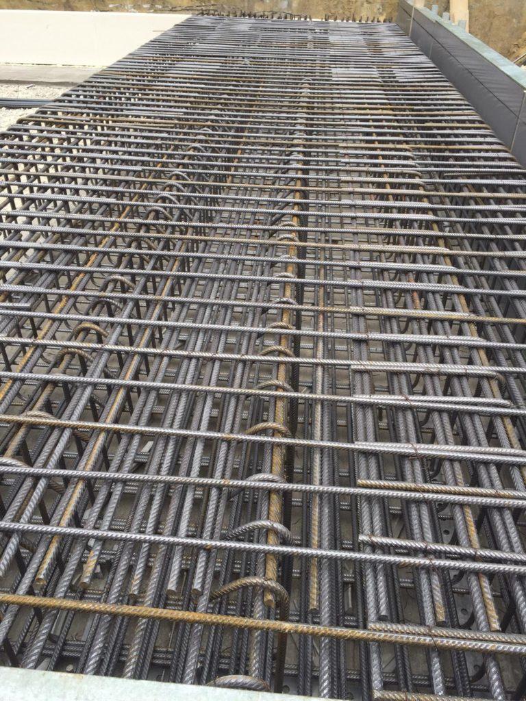 Wohnbau Eisenflechterei Armierungsarbeiten Baustahlarmierung Tiefgaragenbau Betonstahlarmierung
