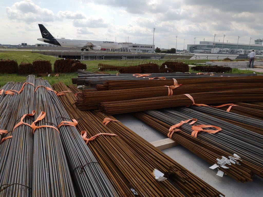 Ingenieurbau Industriebau Eisenflechterei Armierungsarbeiten Baustahlarmierung